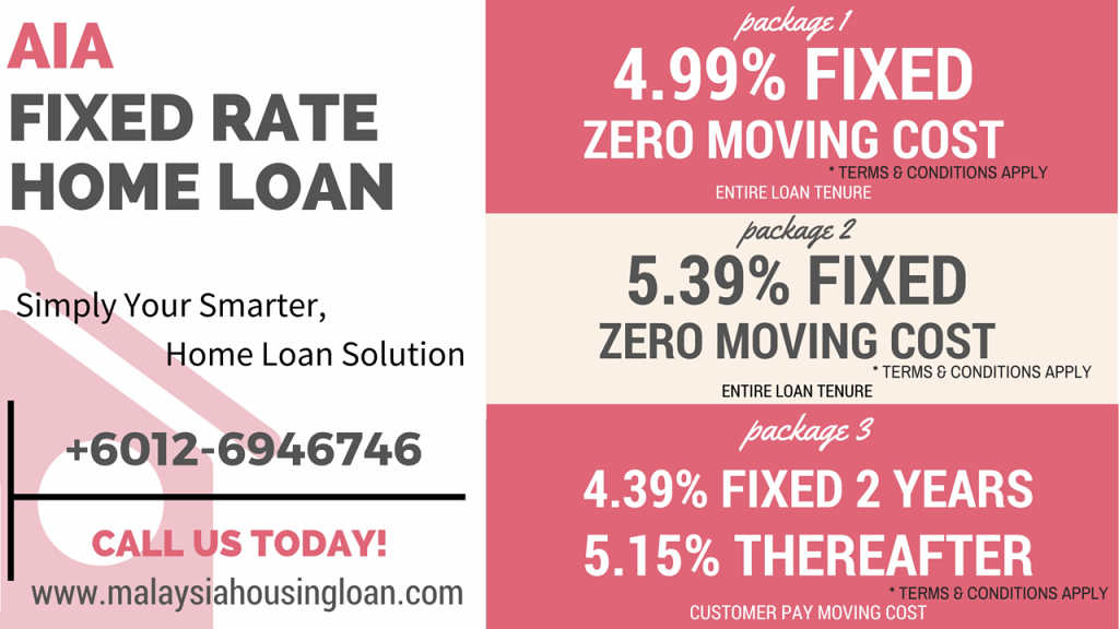 AIA Fixed Rate Home Loan Package