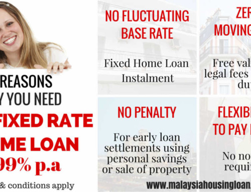 4 Reasons Why You Need AIA Fixed Rate Home Loan