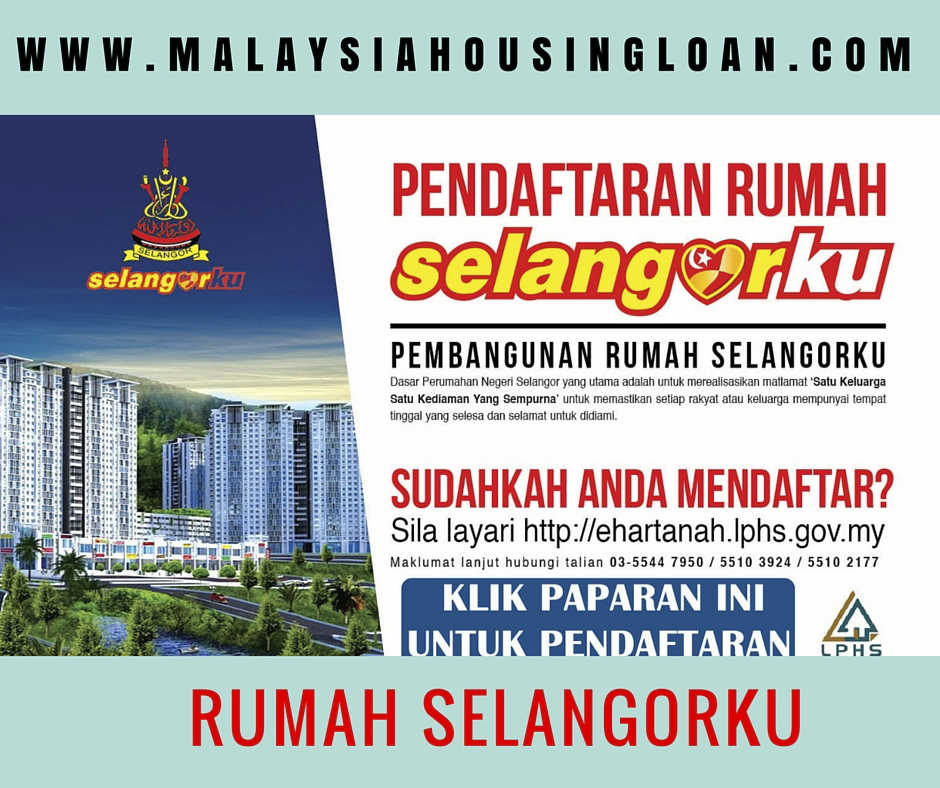 Rumah Selangorku Rumah Mampu Milik Rakyat The Best Malaysia Housing Loan