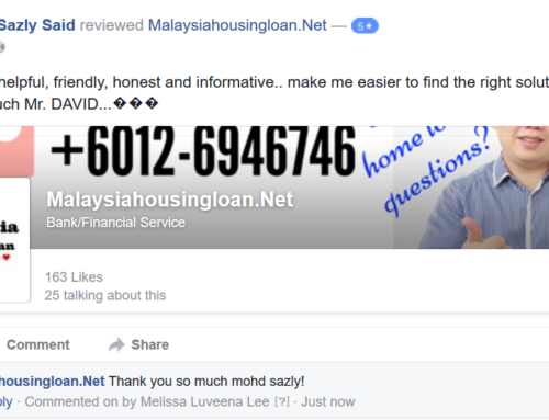 Testimonial From Mohd Sazly