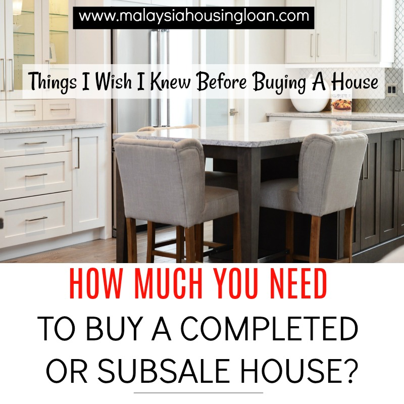 Things i wish i knew before buying a house how much you for Things you need for a house