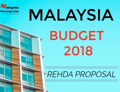 Malaysia Budget 2018 ( Bajet 2018 ) – Rehda Proposal
